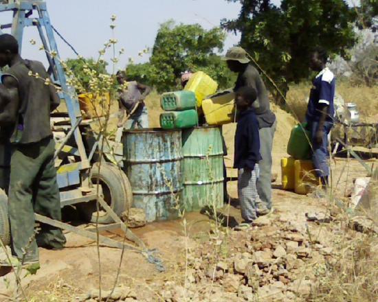 Construction d'un radier: l'eau casse-tête chinois dans les pays sahél