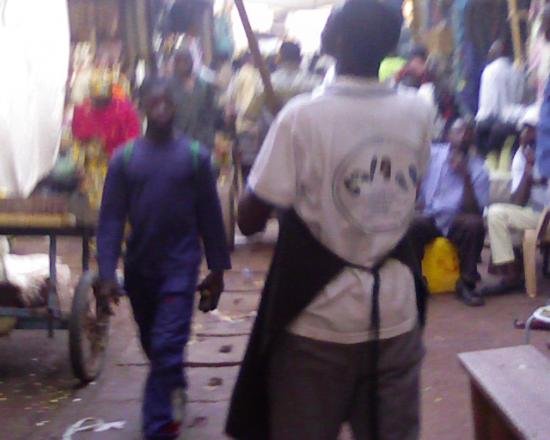 Bobo Dioulasso: à l'interieur du marché