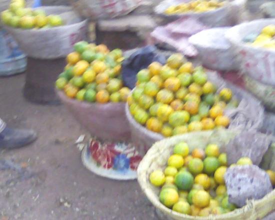 Bobo Dioulasso:Le marché de fruits