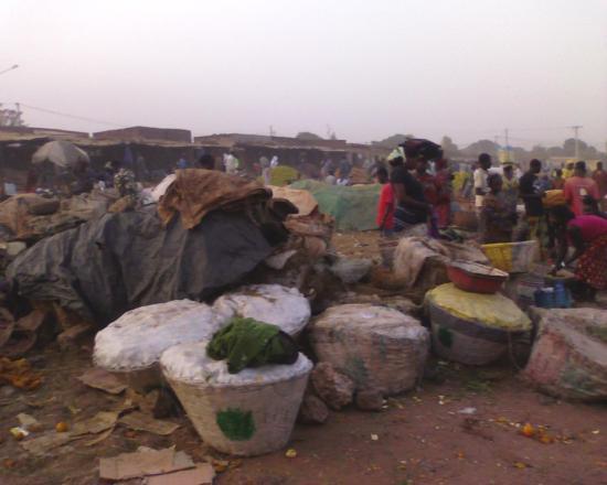 Bobo Dioulasso: Le marché de fruits