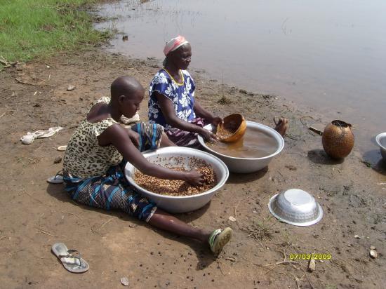 Preparation du soumbala à Inbira chez mes oncles