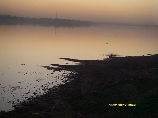 Ouagadougou, au bord du barrage n°2