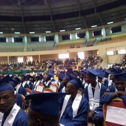Une vue d'ensemble des diplômés de ce grand jour