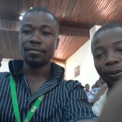Mes amis Ivoiriens. A droite on a KOUA Koffi Jean Thibaut
