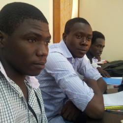 Mes amis Tchadiens, Bernard YA HE BO et Arnaud TANKIMADI, 2iE Master1/ROA (2012-2013)