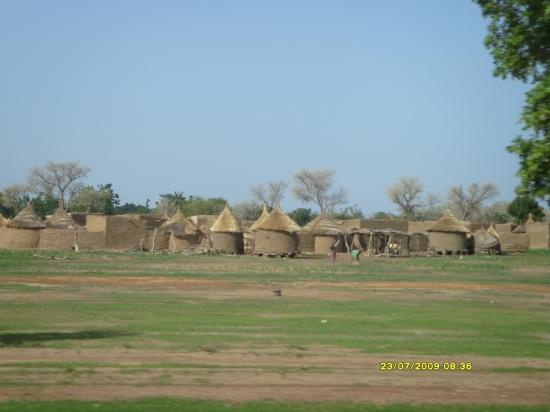 Un village au Burkina Faso